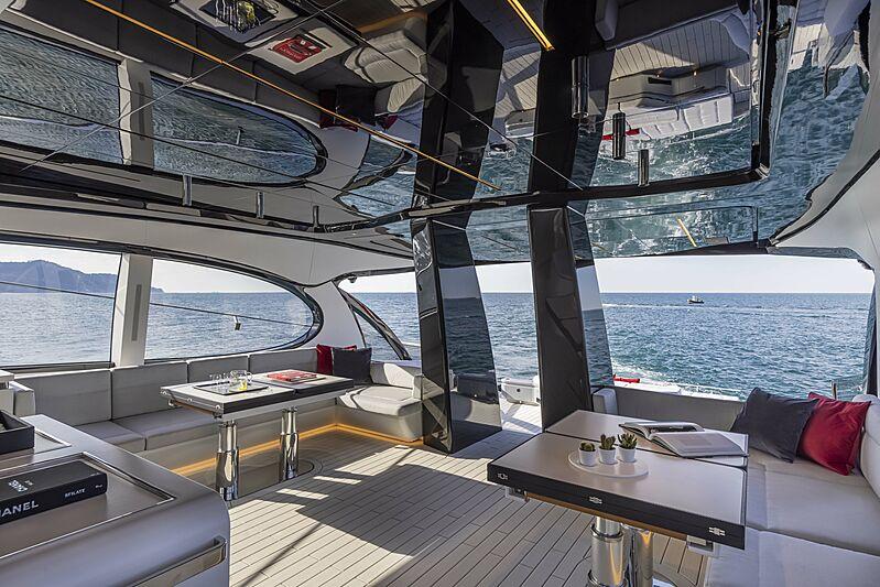 Aldabra yacht saloon