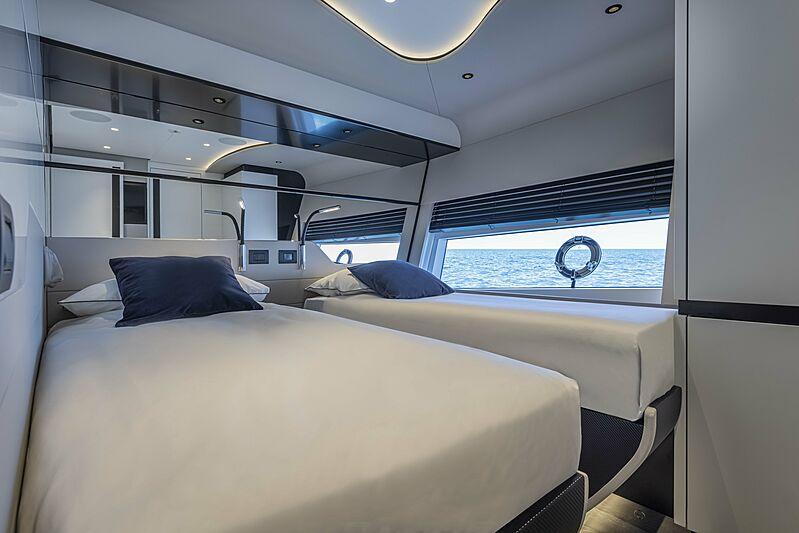 Aldabra yacht stateroom