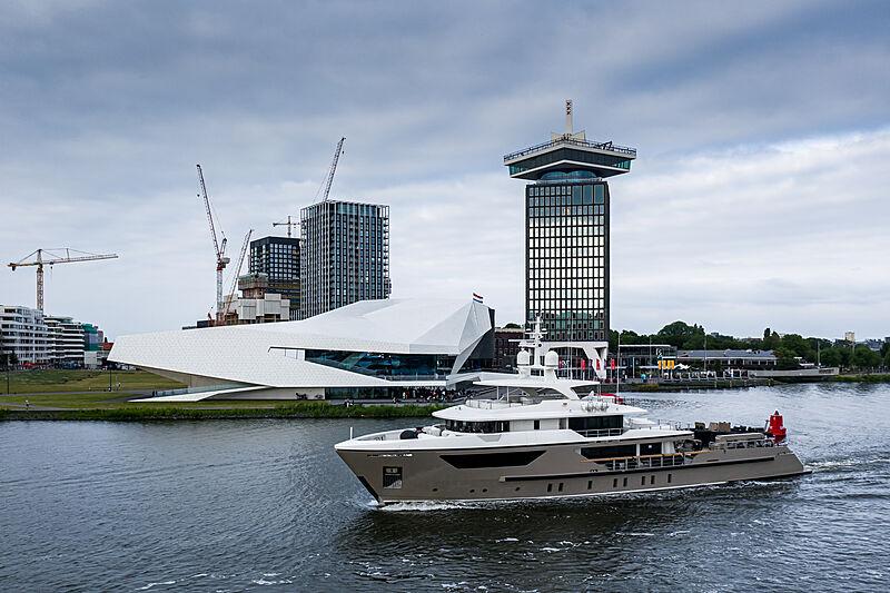 Lars yacht by Sanlorenzo in Amsterdam