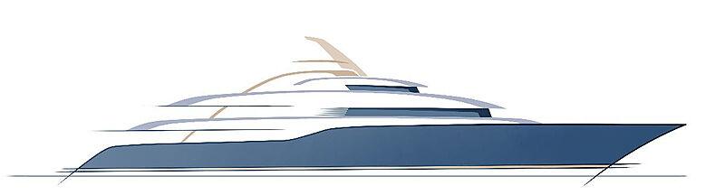 Project Toro yacht sketch
