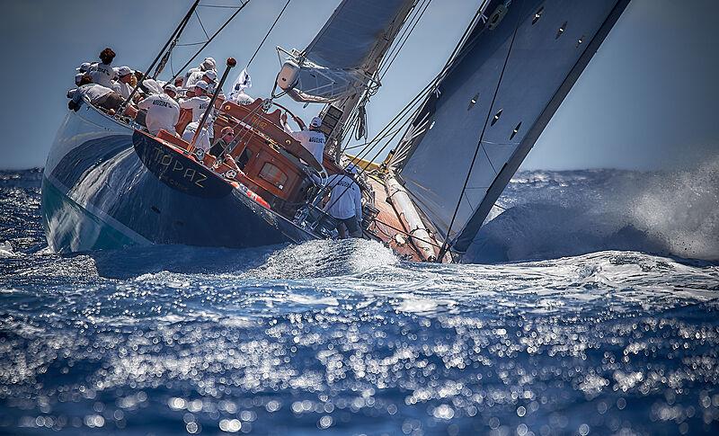 Topaz J8 yacht sailing