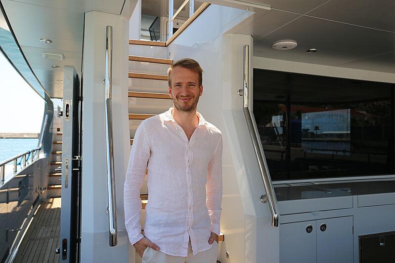 Bogdan Gusarev of Bering Yachts