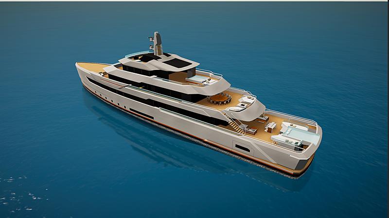 Telex yacht in SYT 3D