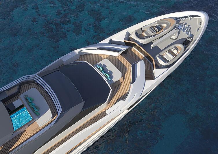 Tankoa Linea Sportiva 55 yacht exterior design