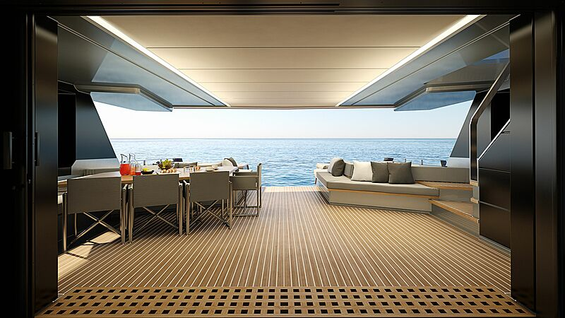 Wally WHY200 yacht interior design