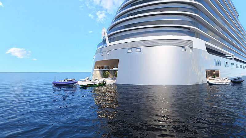 Narrative residential ship render