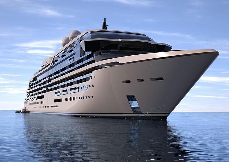 Njord residential ship