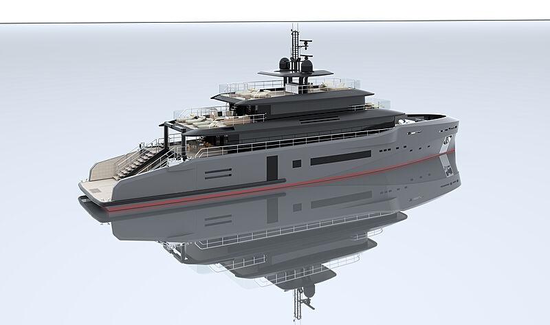 MSS 44M yacht exterior design