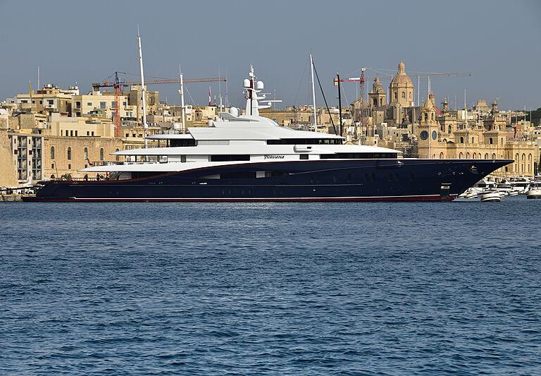 Nirvana yacht in Malta