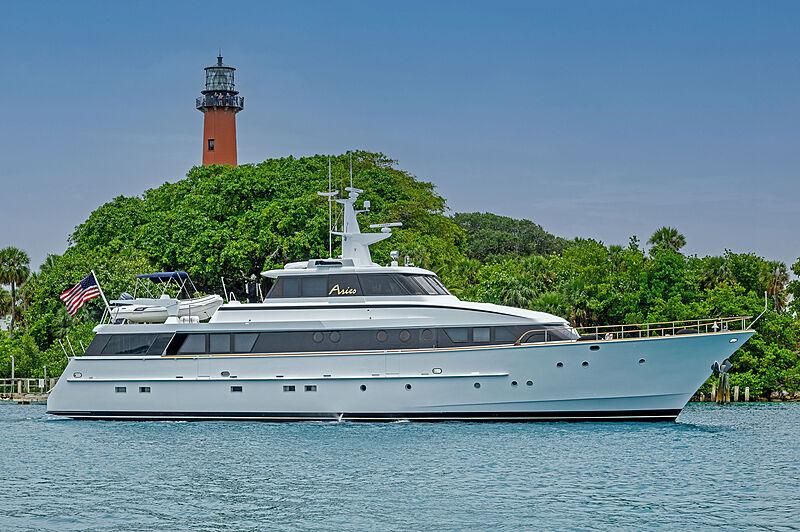 Aries yacht cruising