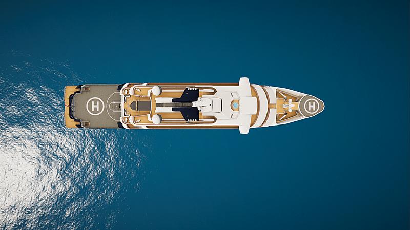 Octopus yacht in SYT 3D