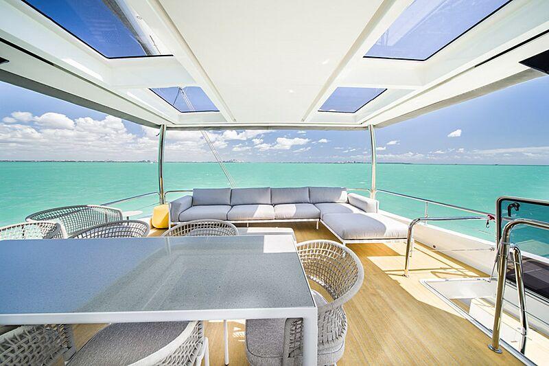 Olivia RB yacht aft deck