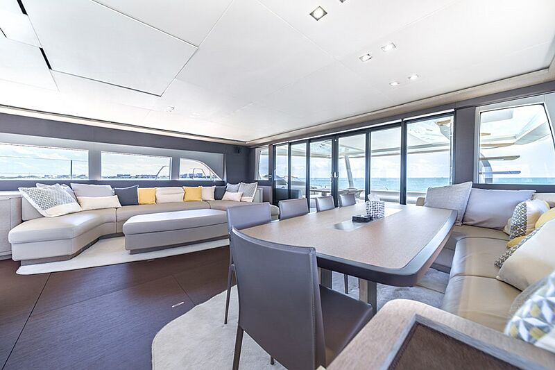 Olivia RB yacht saloon