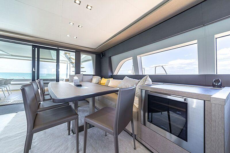 Olivia RB yacht dining