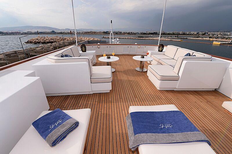 Shaf yacht sun deck