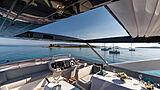 Mowana yacht flybridge