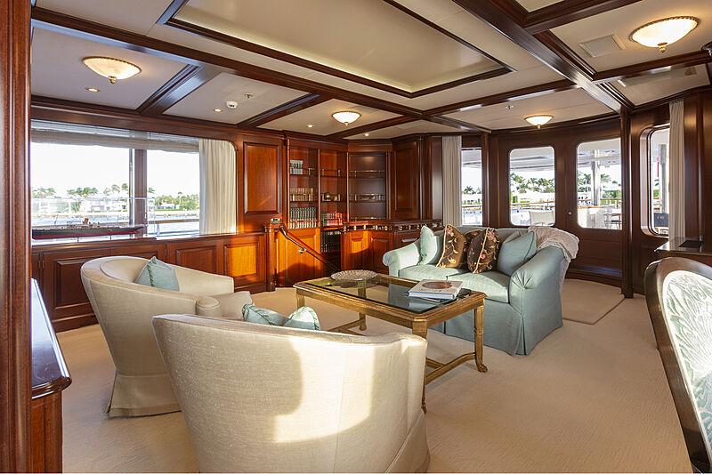 Mary A yacht interior