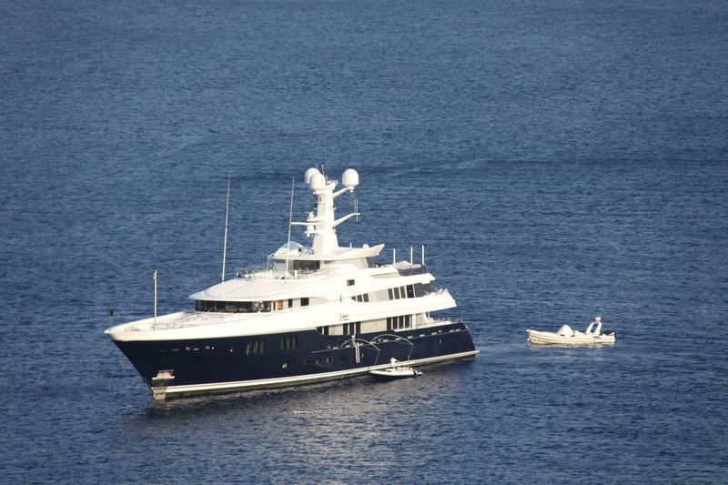Kaiser anchored off Bodrum