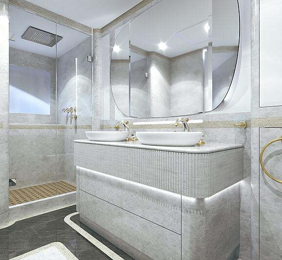 Project Mirage 401 interior