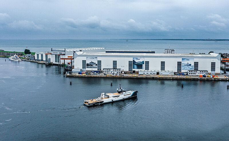 Time Off yacht in Vlissingen