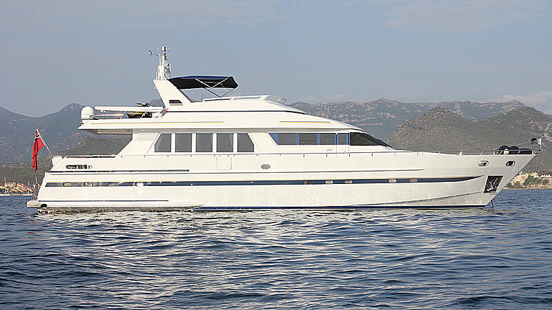 Happy Daze yacht profile