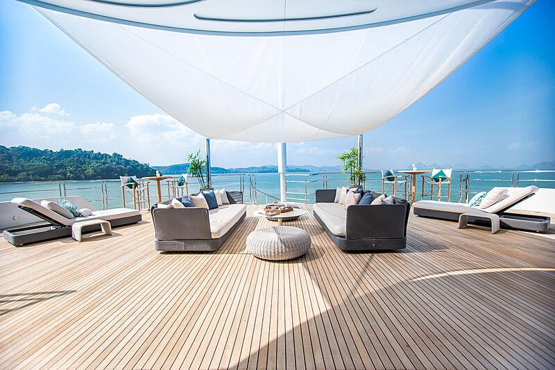 Saluzi yacht deck