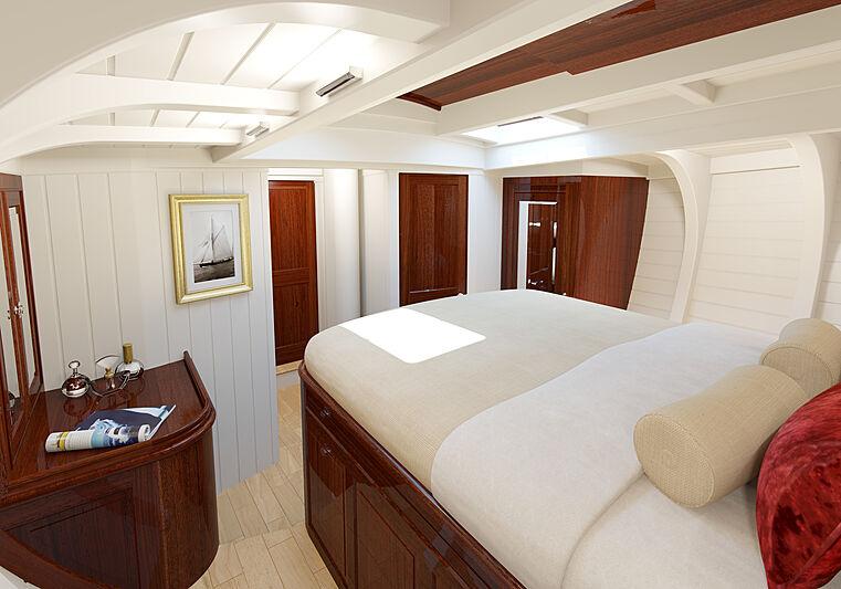 Fairlie 77 yacht renderings