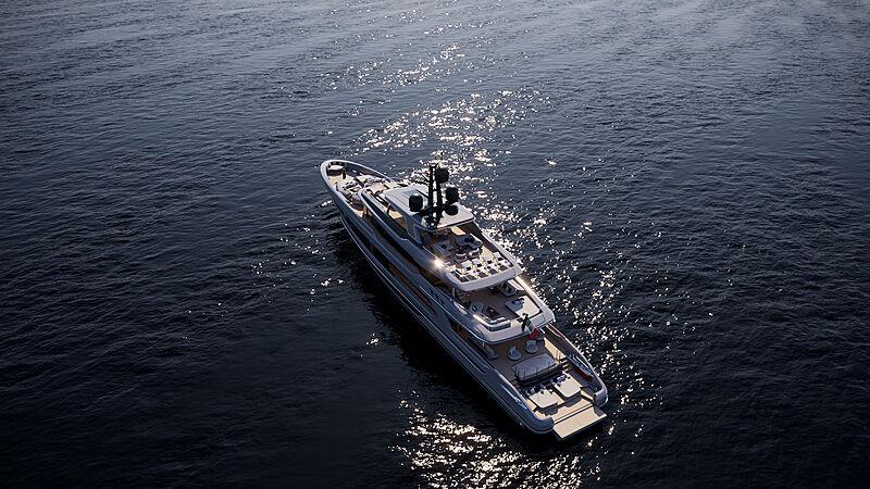 Baglietto 52 T Line yacht rendering
