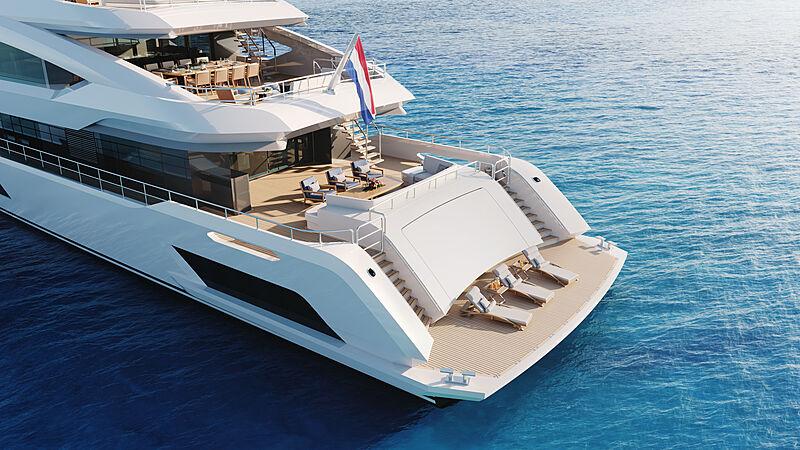 Akira yacht exterior render