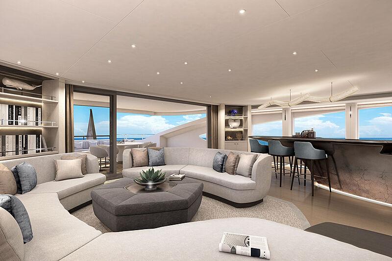 Akira yacht interior render
