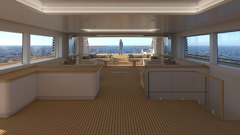 Explorer 49.5 yacht concept by Tommaso Spadolini