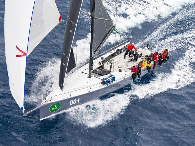 Ichi Ban winning yacht Sydney Hobart 2017