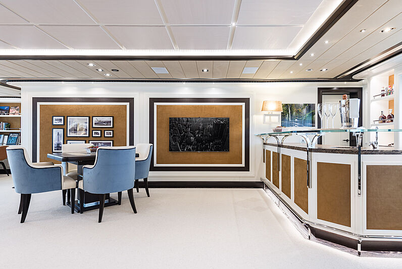 Forever One yacht interior