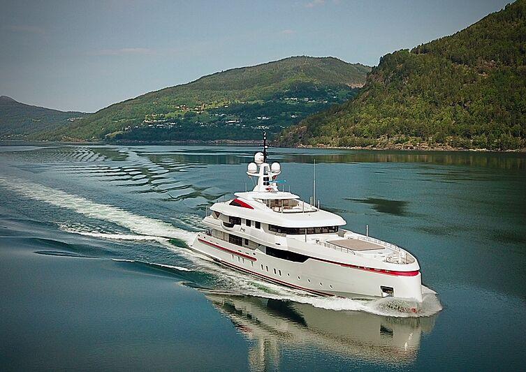 Forever One yacht cruising