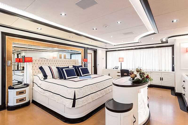 Forever One yacht stateroom