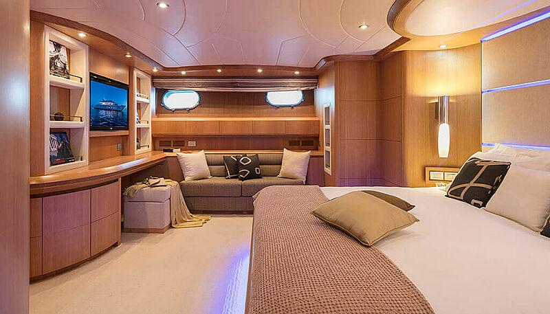 Paris A yacht stateroom