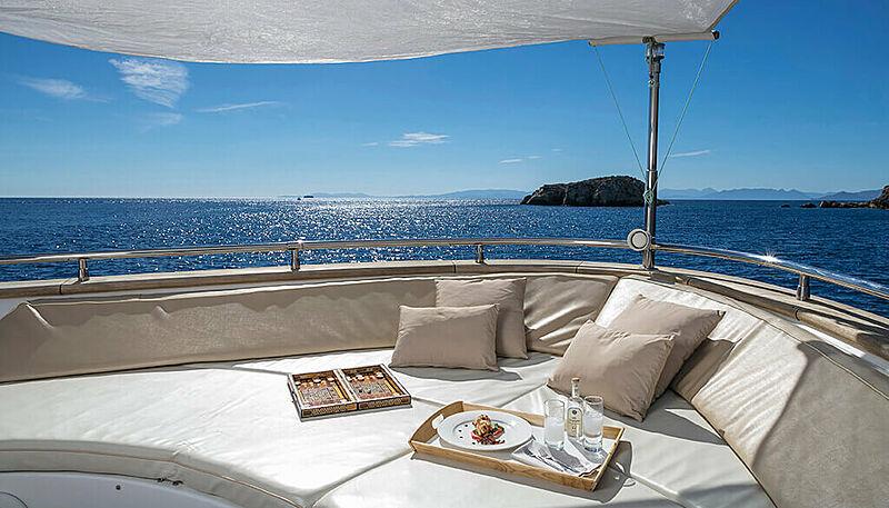 Paris A yacht deck