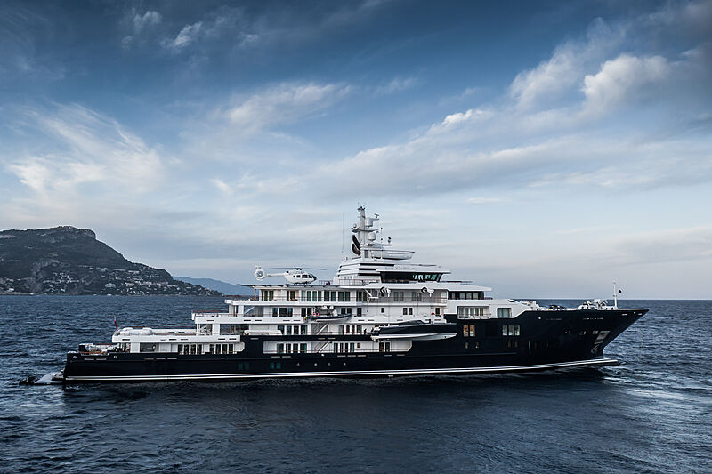 Ulysses yacht by Kleven in Beaulieu-sur-Mer, France