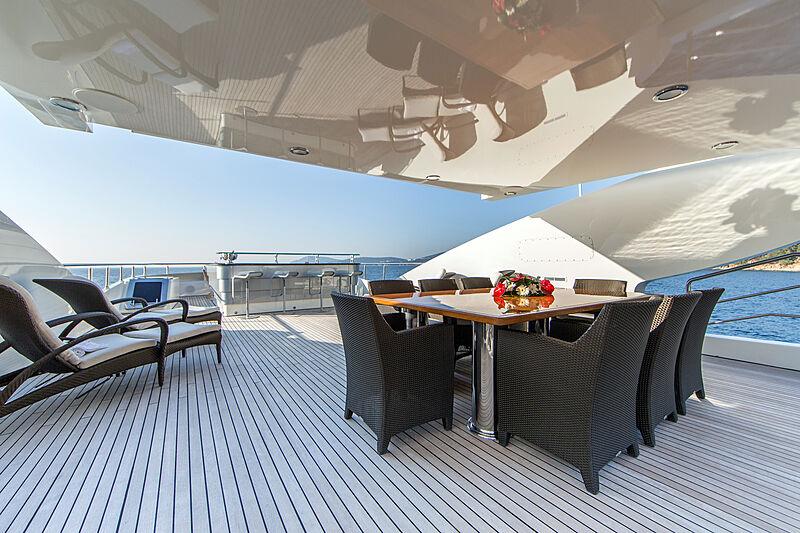 Panakeia yacht deck