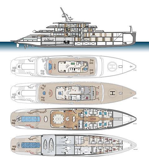 Lalique superyacht concept 'Le Yacht'