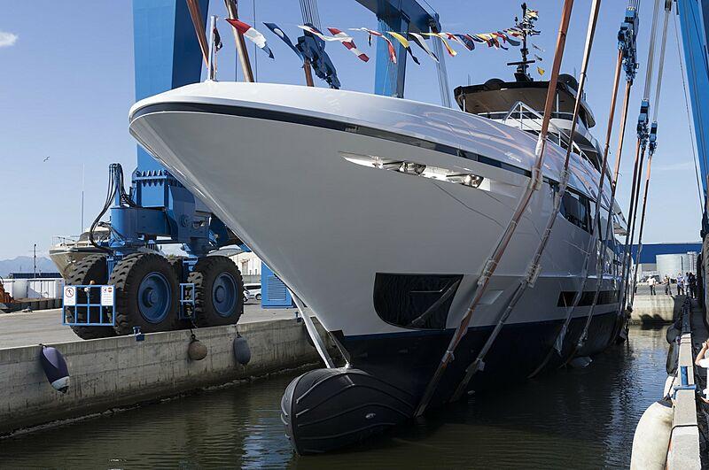 Como yacht launch