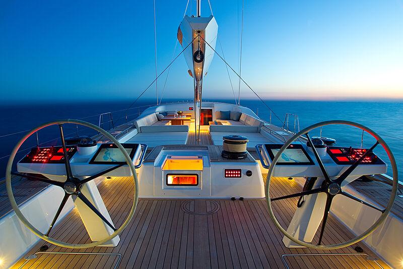 Nilaya yacht bridge