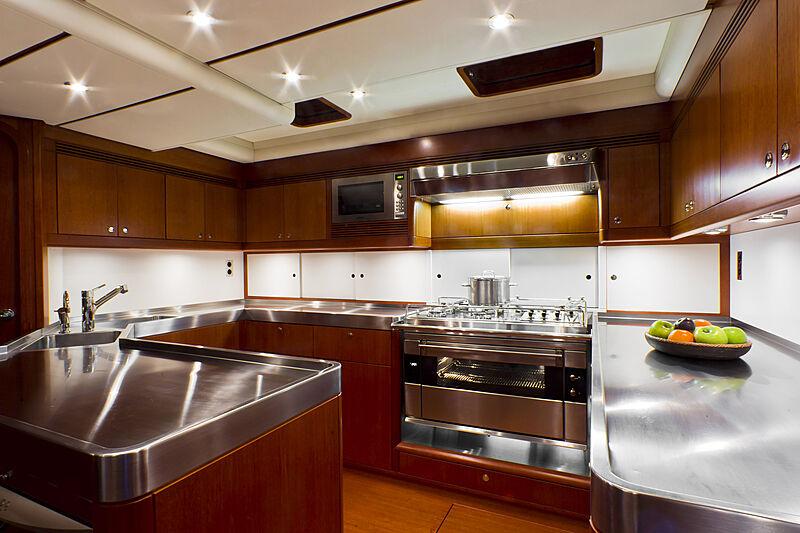 Nilaya yacht galley