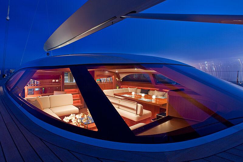 Nilaya yacht deck