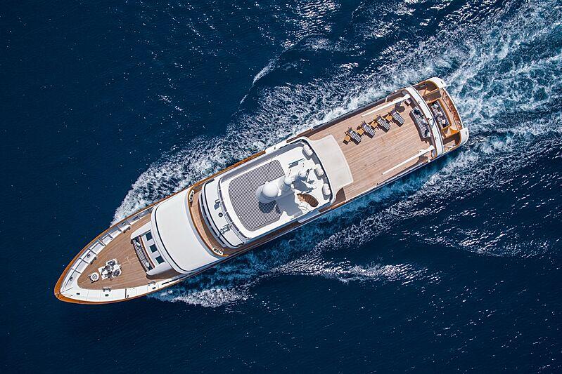 Monaco yacht cruising