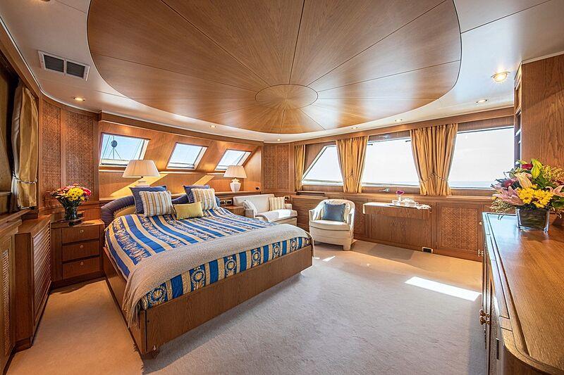 Monaco yacht stateroom