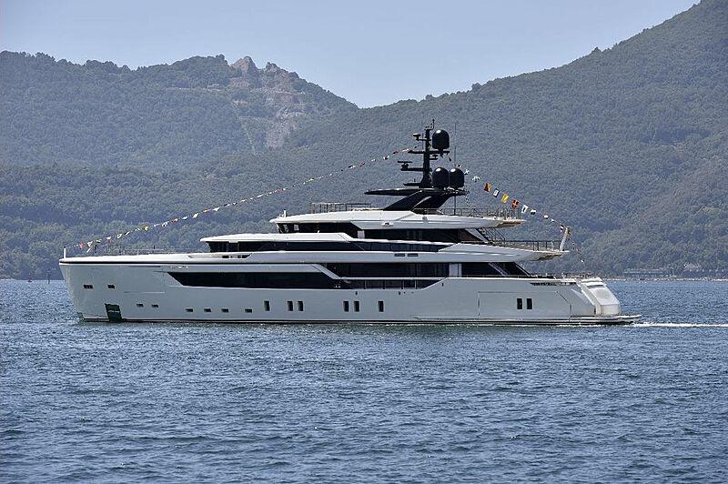Sanlorenzo Alloy yacht launch