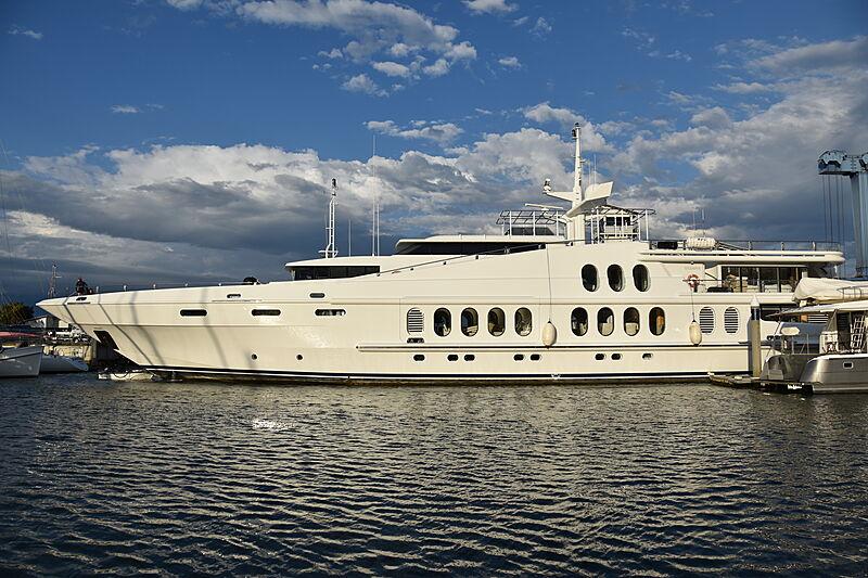 Oceana yacht at GCCM