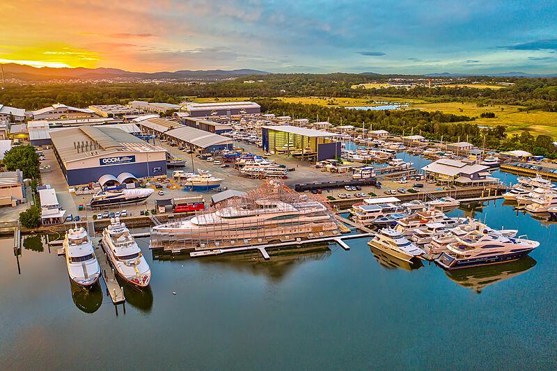 GCCM shipyard and marina
