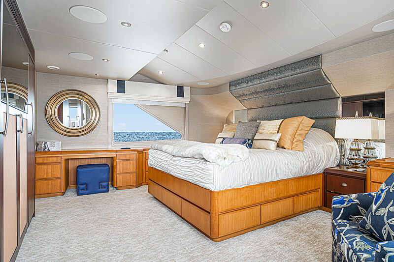 Afterglow yacht stateroom